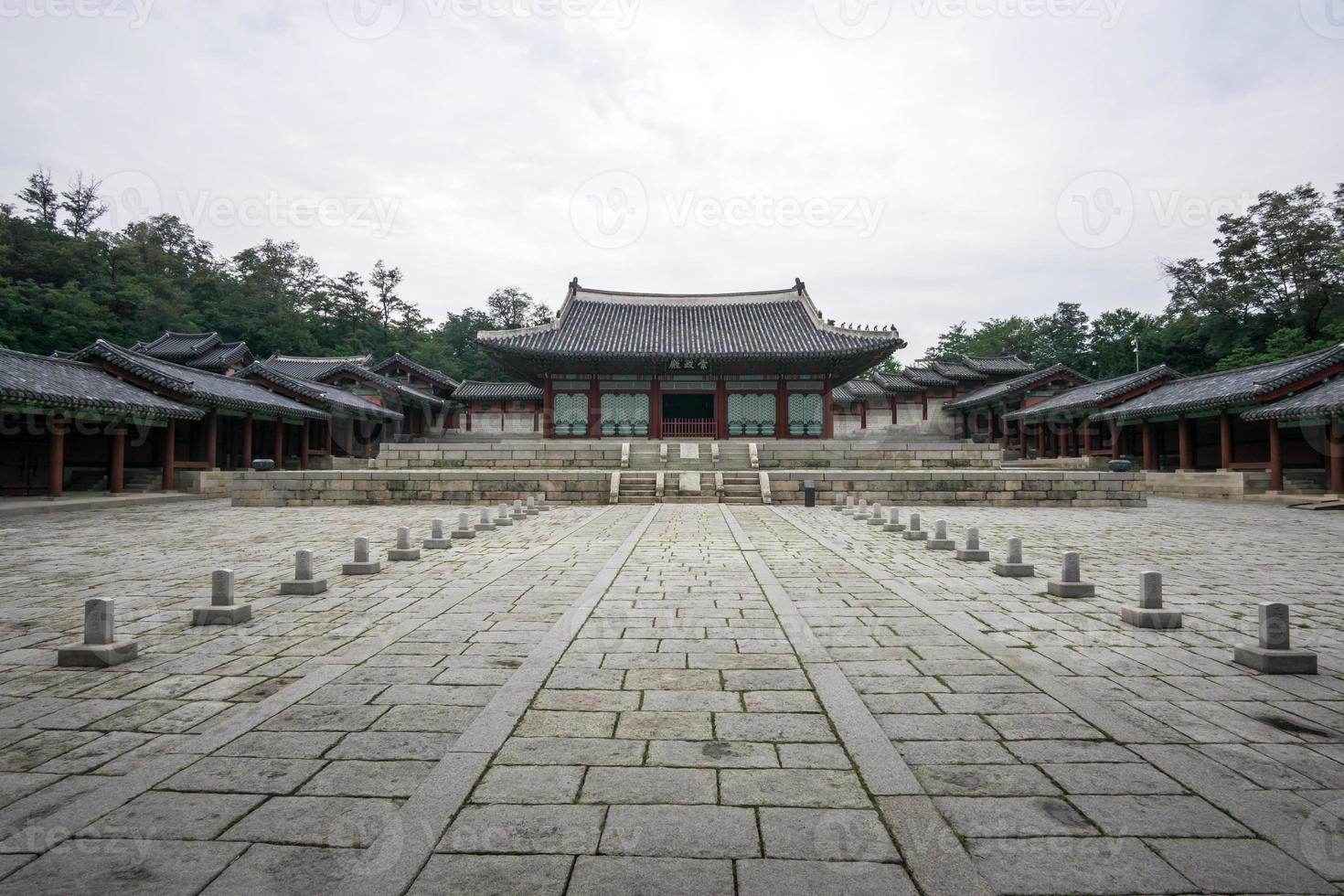 Gyeonghui Gung Palast Landschaft foto