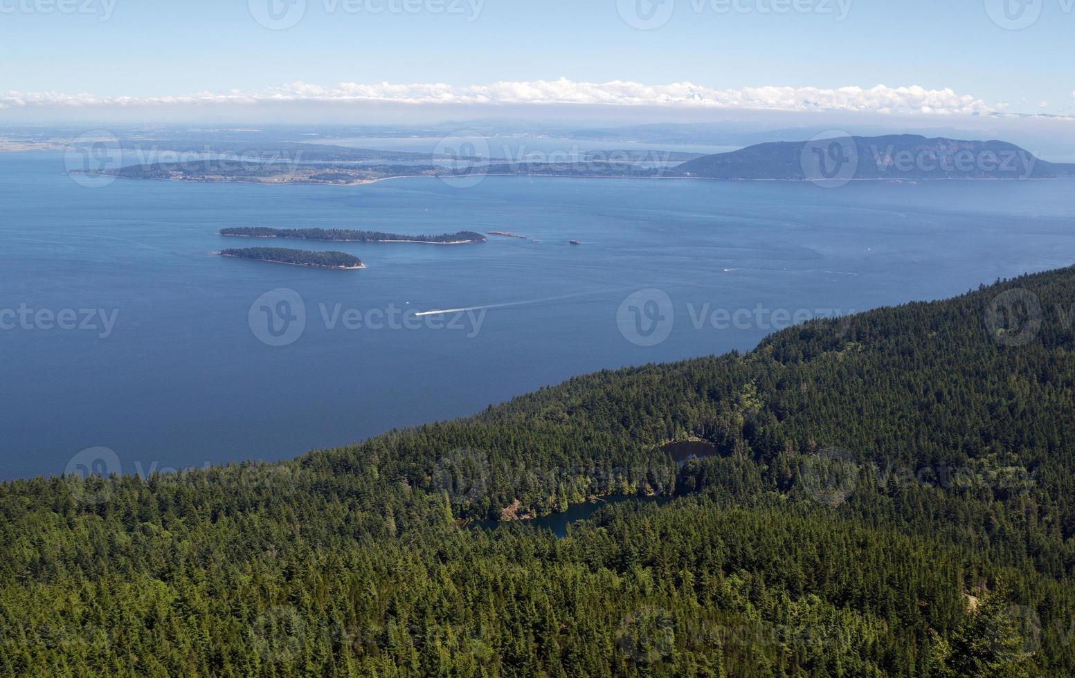 San Juan Islands und Twin Lakes im Bundesstaat Washington foto