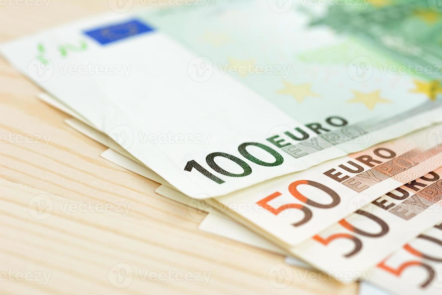 Geld, Euro-Währung (Euro) Banknoten foto