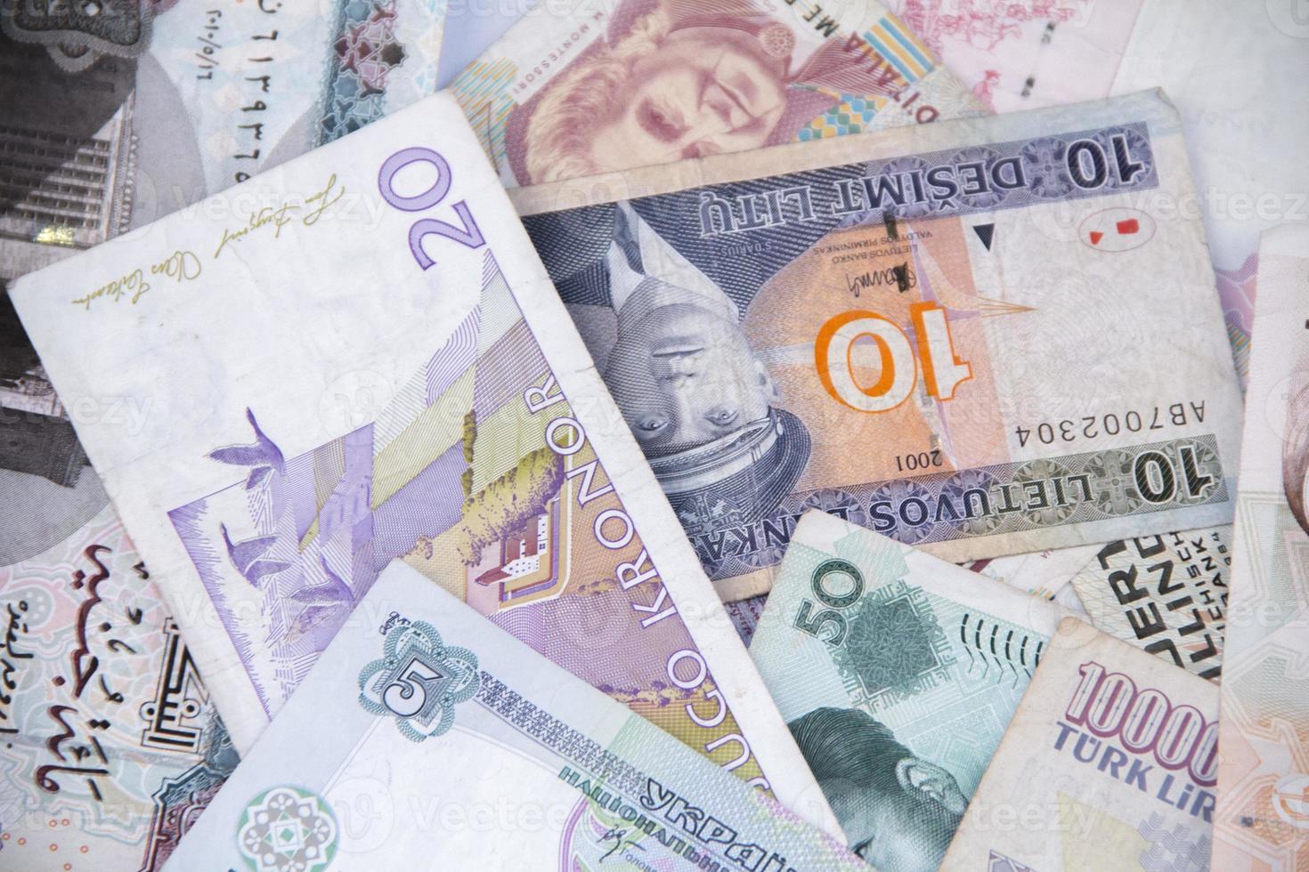 Stapel Banknoten foto