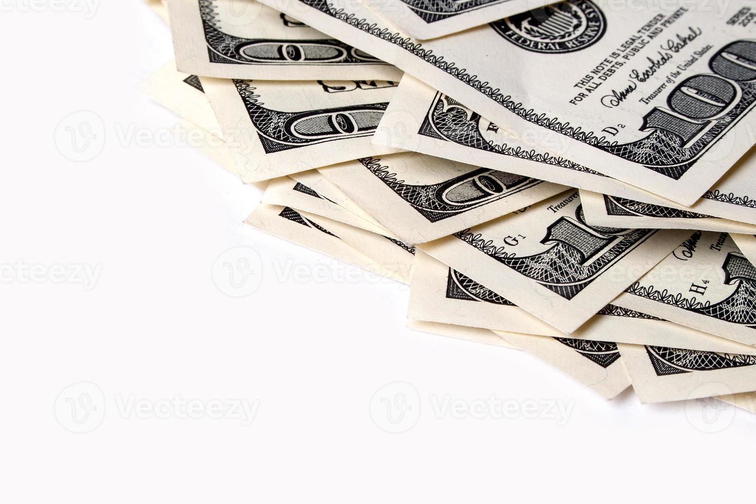 Stapel Dollar foto