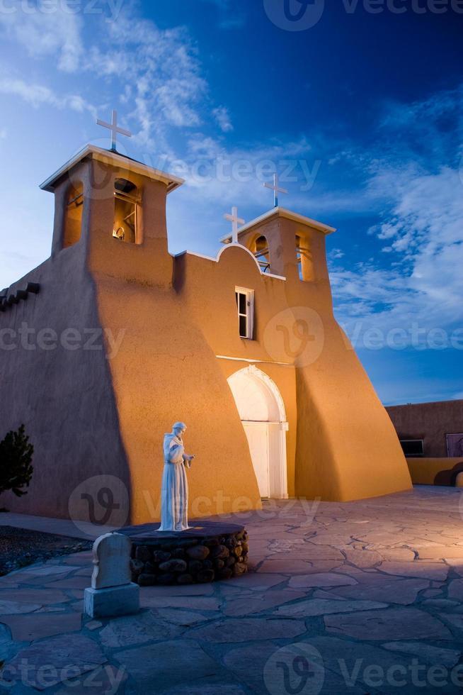 Kirche von San Francisco de Asis, Taos, New Mexico foto