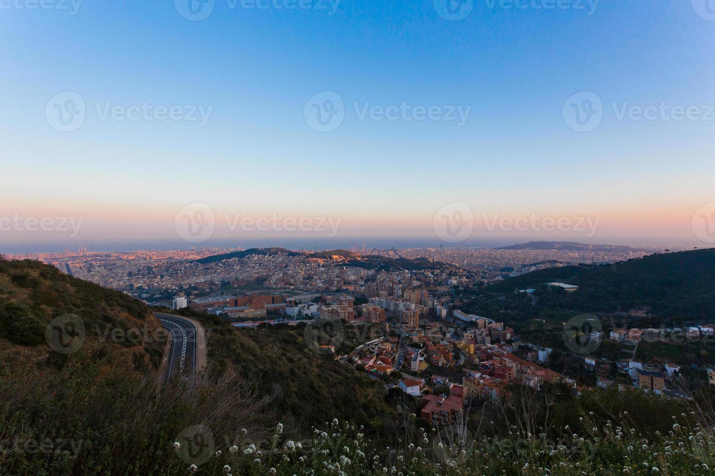 Blick auf Spanien foto