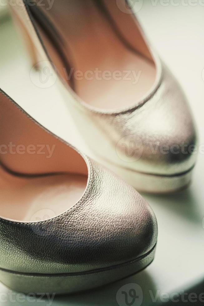 Schuhe schließen foto