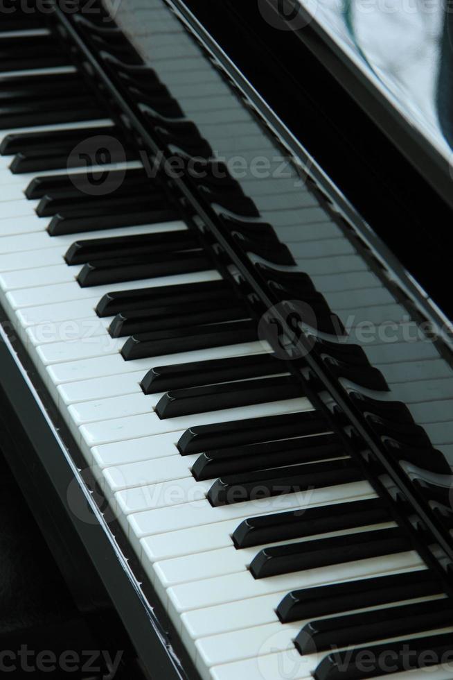 Klavier hautnah foto