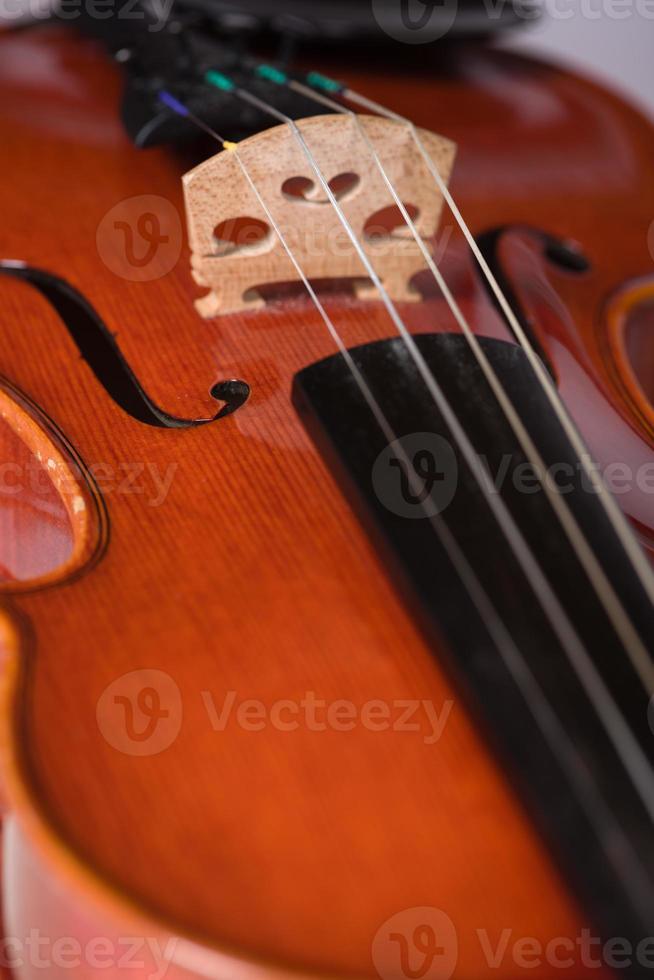 Nahaufnahme Geige foto