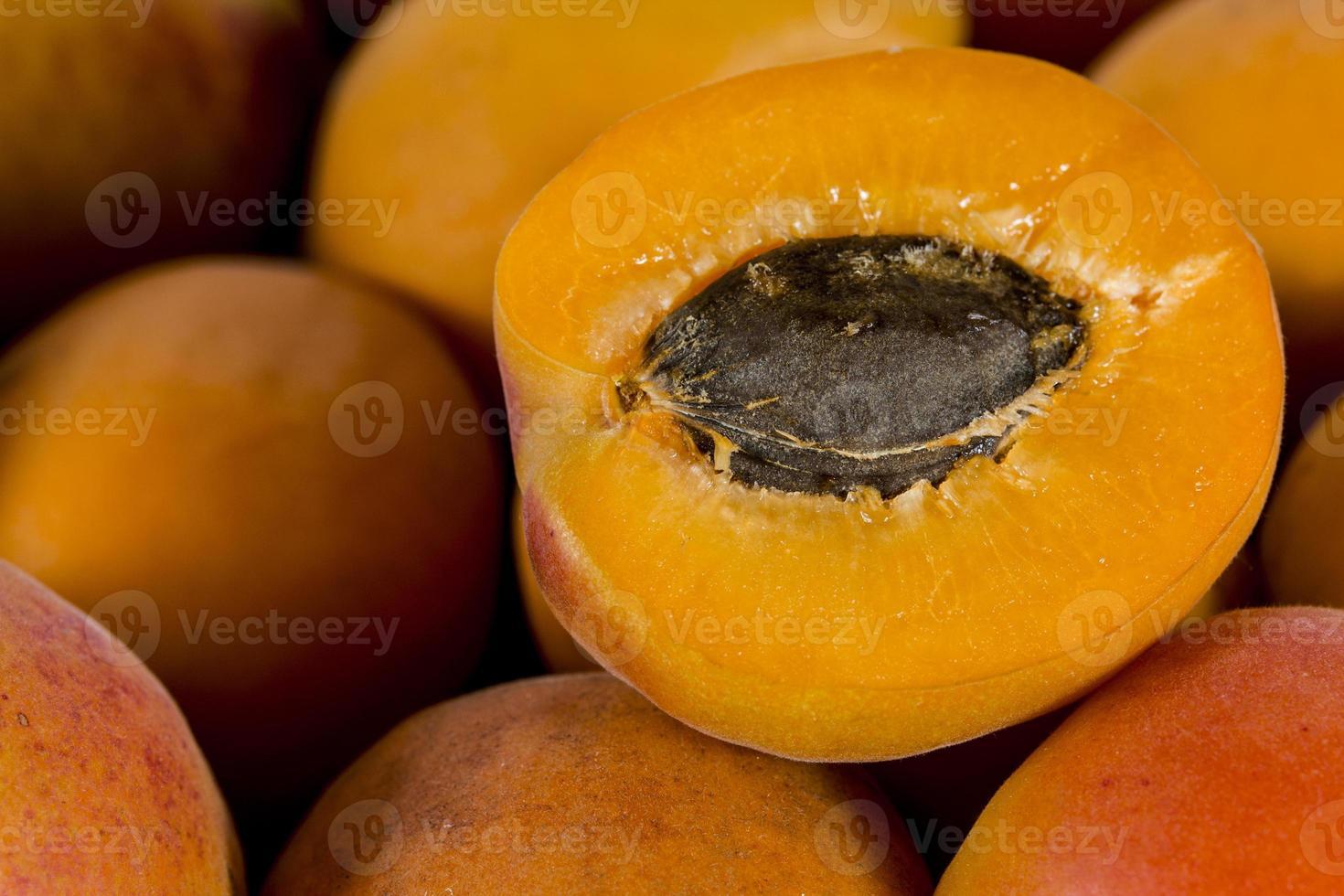 Aprikosen Nahaufnahme foto