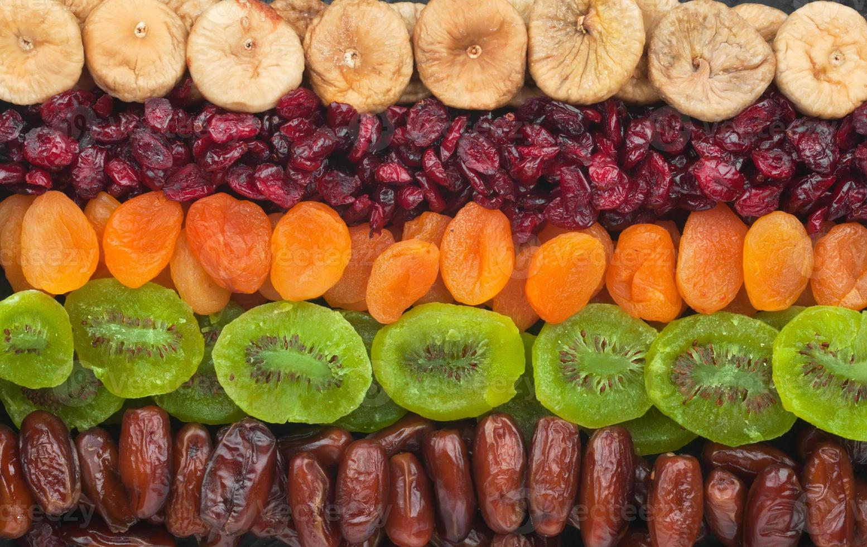 getrocknete Früchte hautnah foto