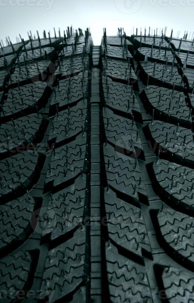 neue Reifen Nahaufnahme foto