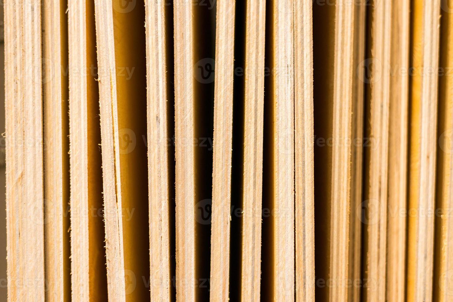 Sperrholzplatten schließen foto