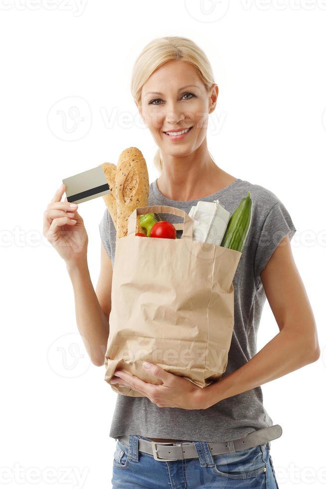 Lebensmittel einkaufen foto
