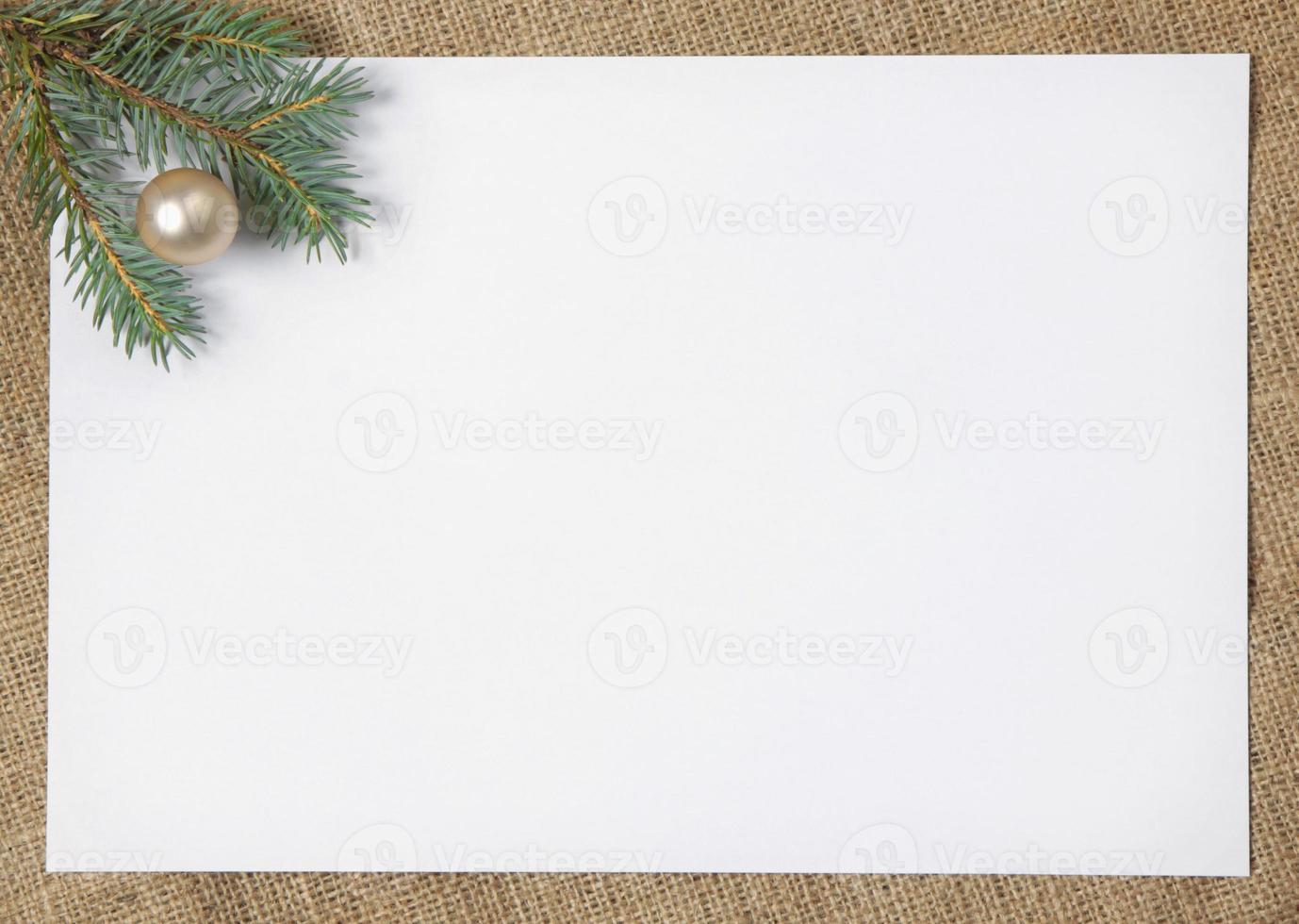 Weihnachtskarte foto