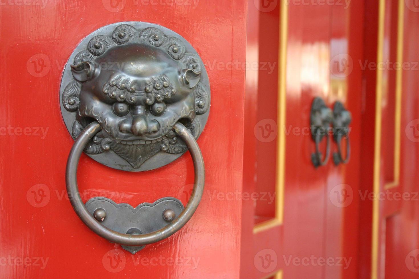 chinesische Türen foto