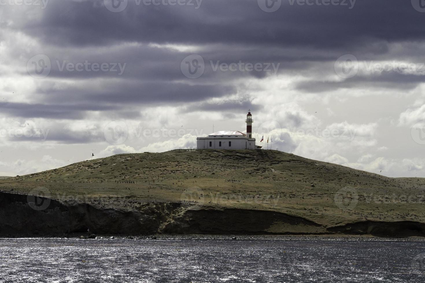 Leuchtturm Isla Magdalena foto