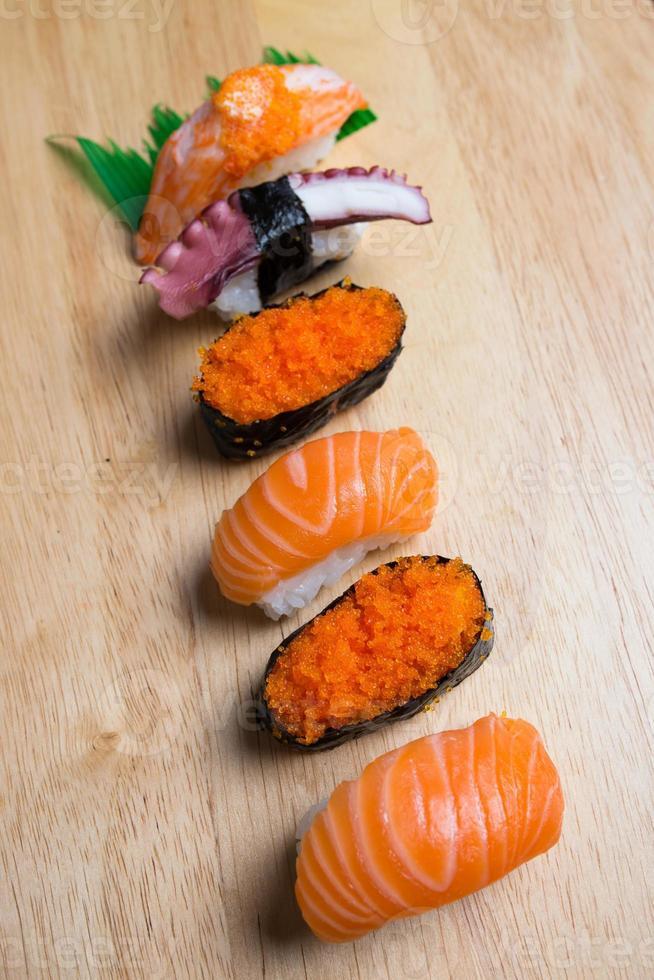japanisches Sushi foto