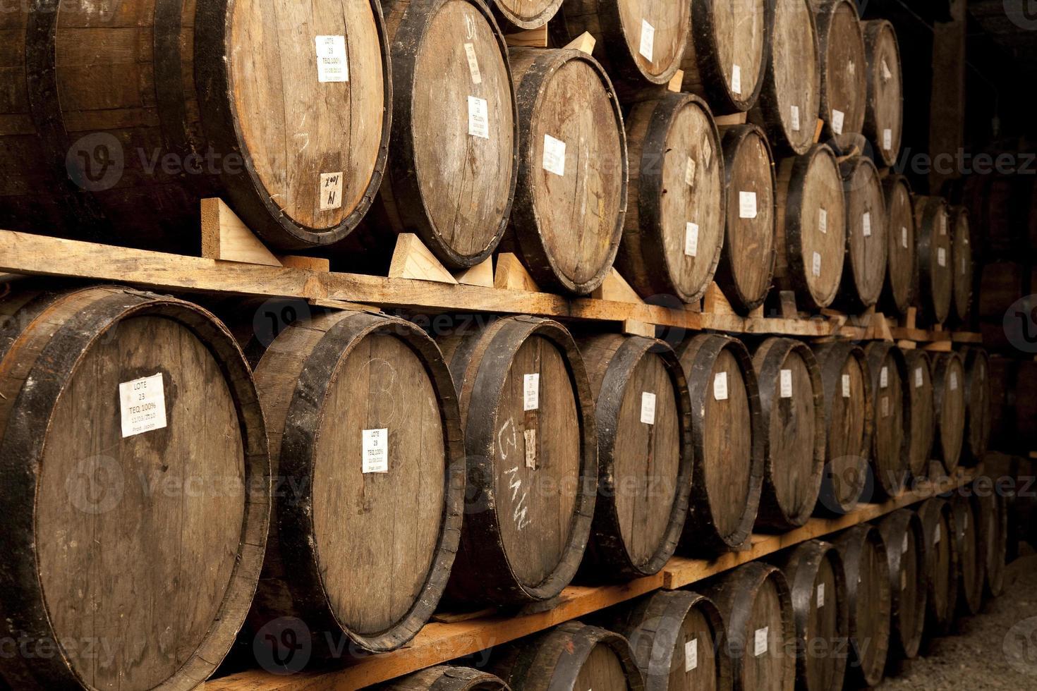 Tequila zu verarbeiten reifen foto