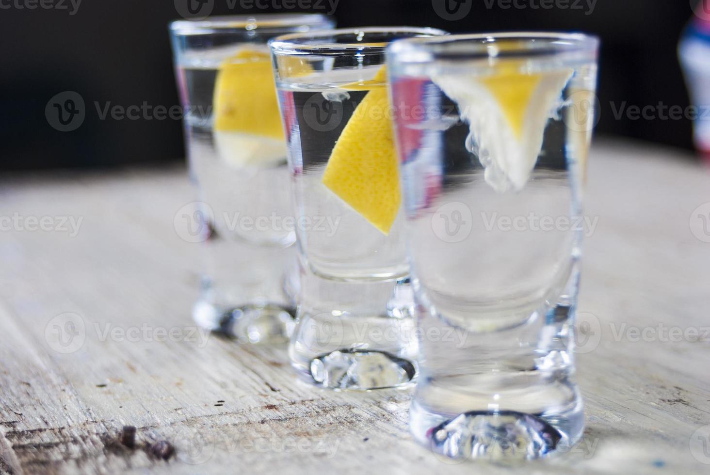 Wodka trinken foto