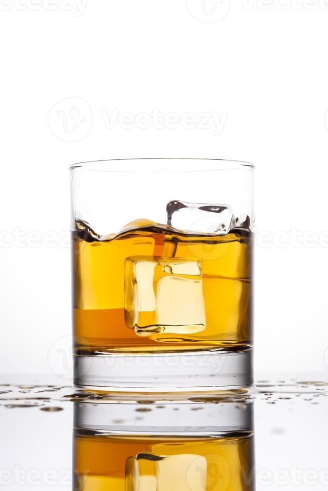 Whisky im Glas foto
