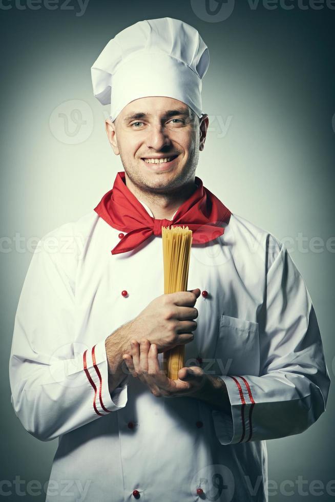 männliches Kochporträt foto