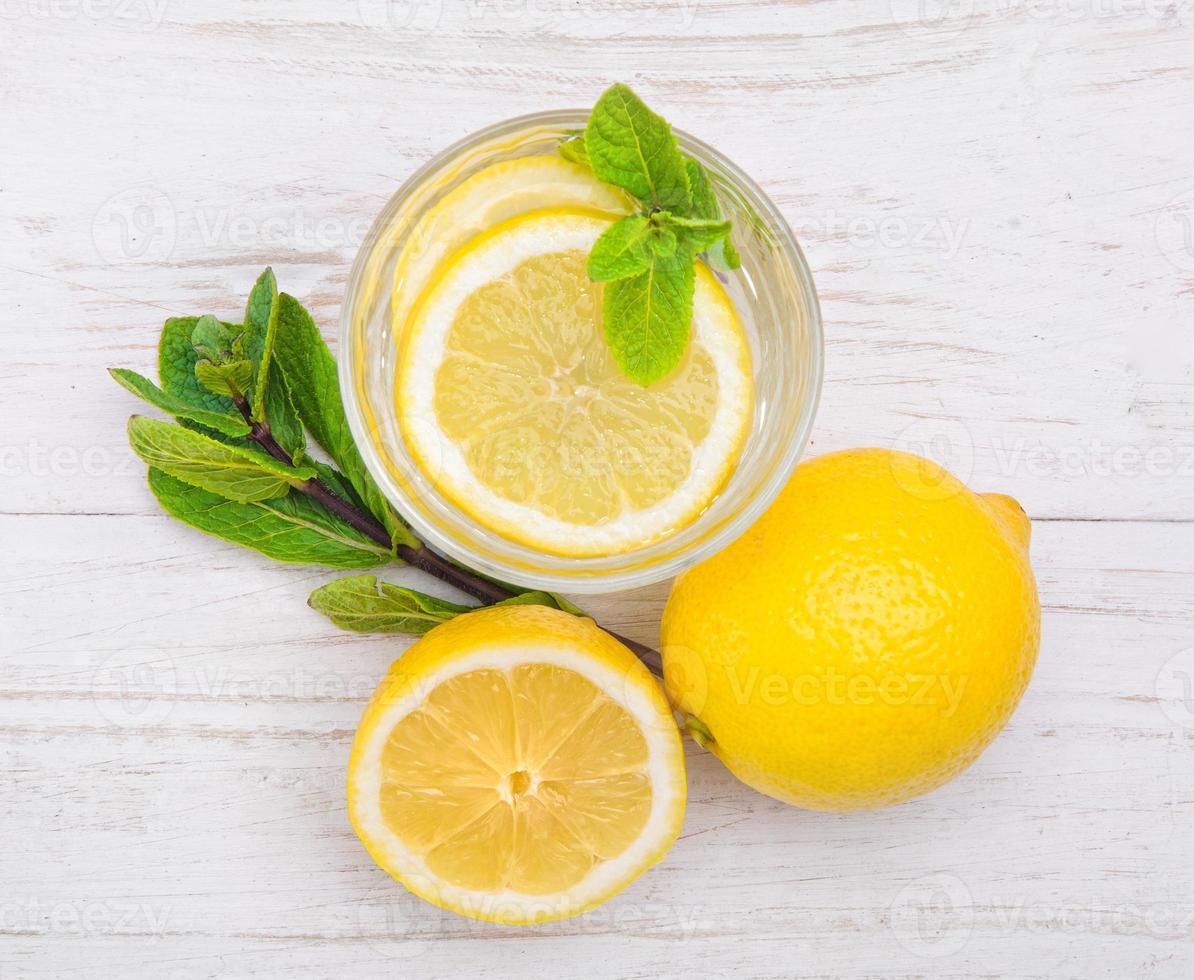 Zitronengetränk foto