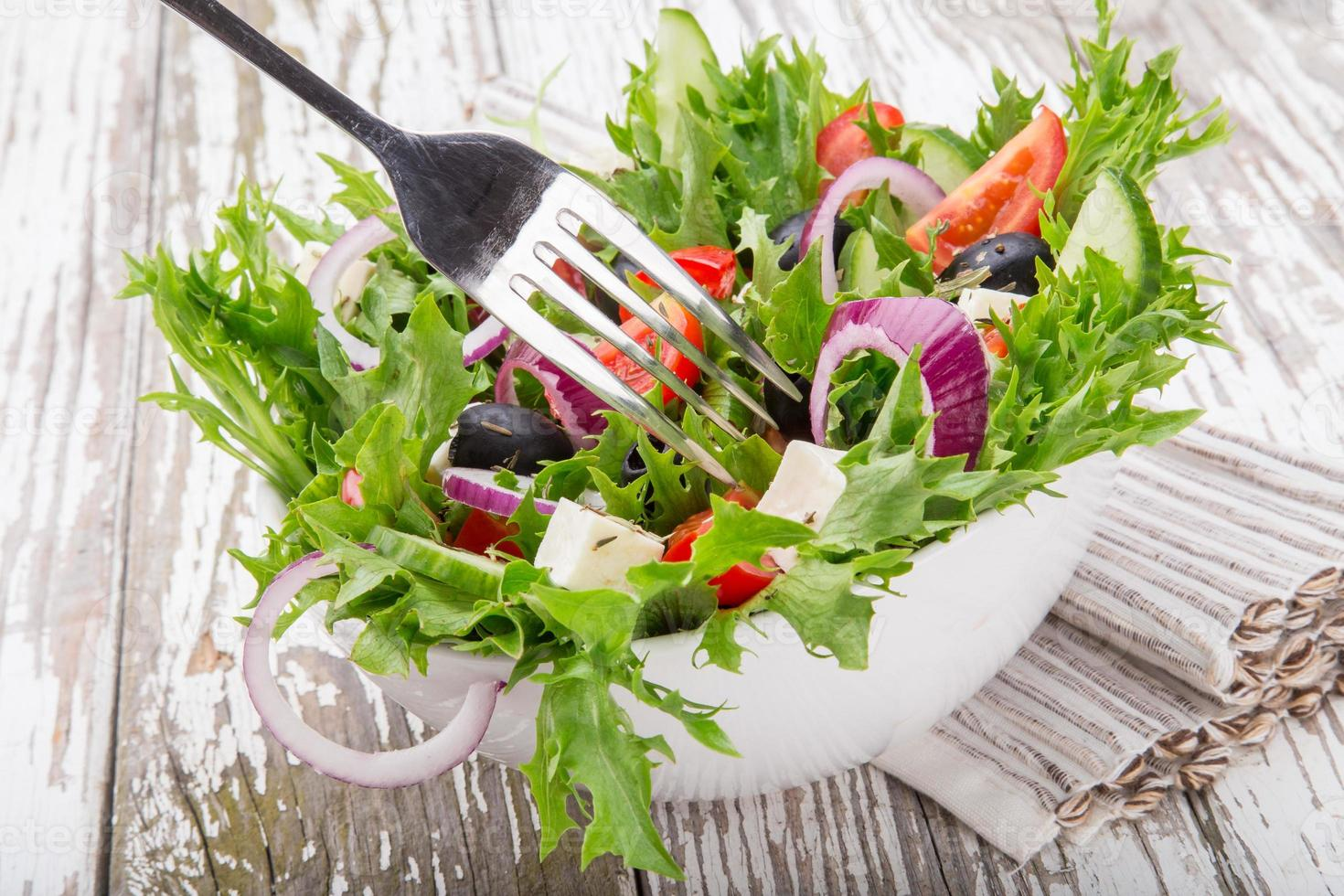 frischer Salat. foto