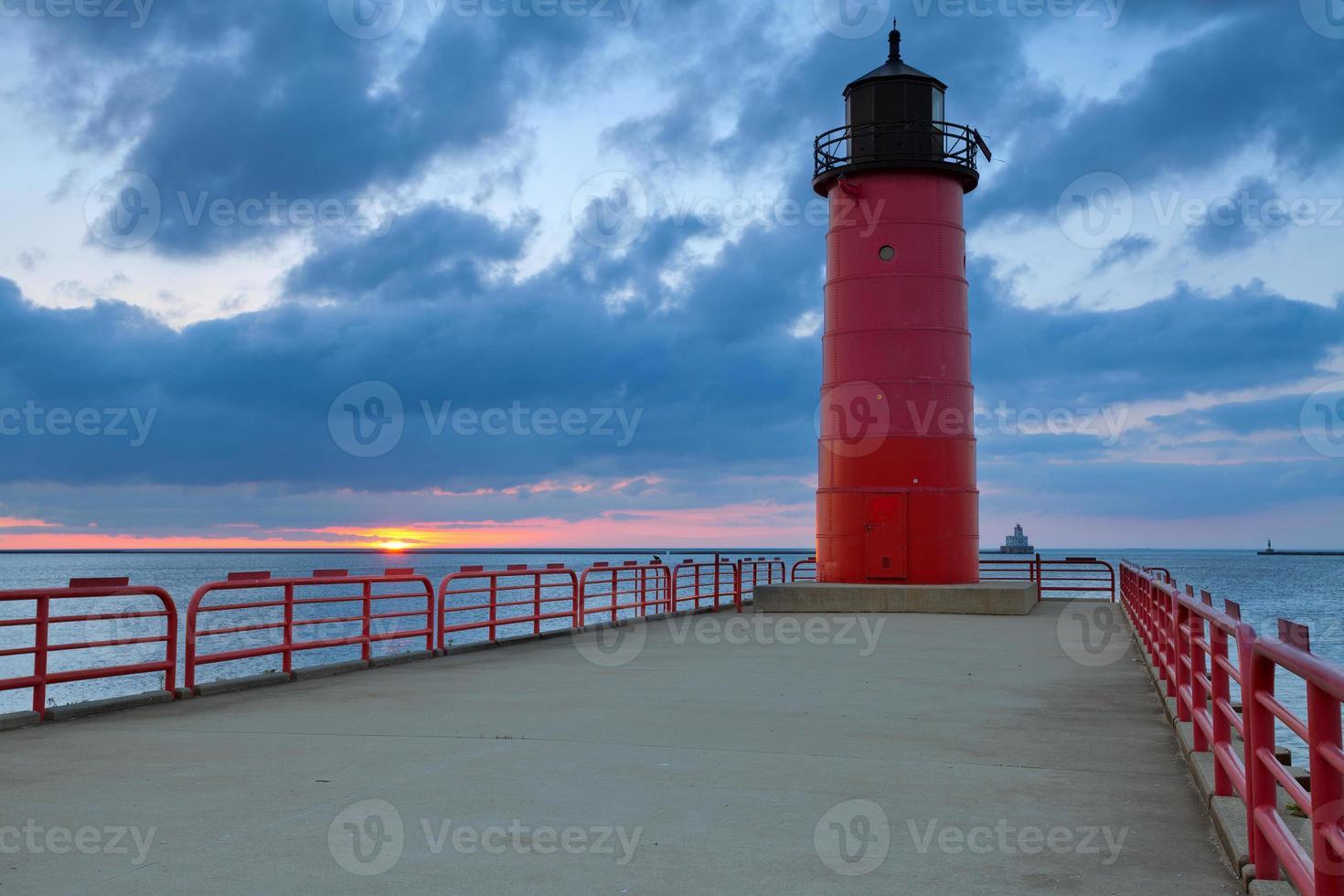 Milwaukee Leuchtturm. foto