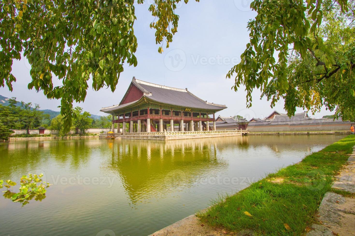 Gyeongbokgung Palast, Seoul, Korea foto