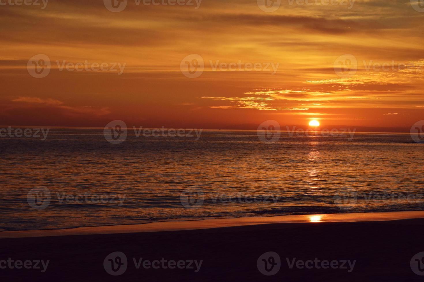 Laguna Strand Sonnenuntergang foto