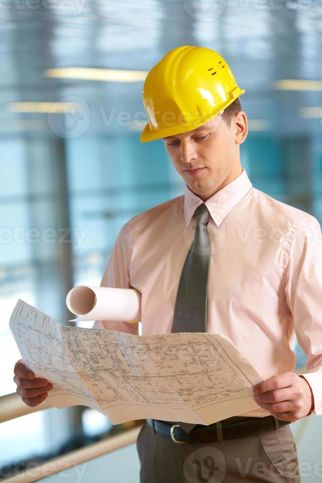 junger Architekt foto