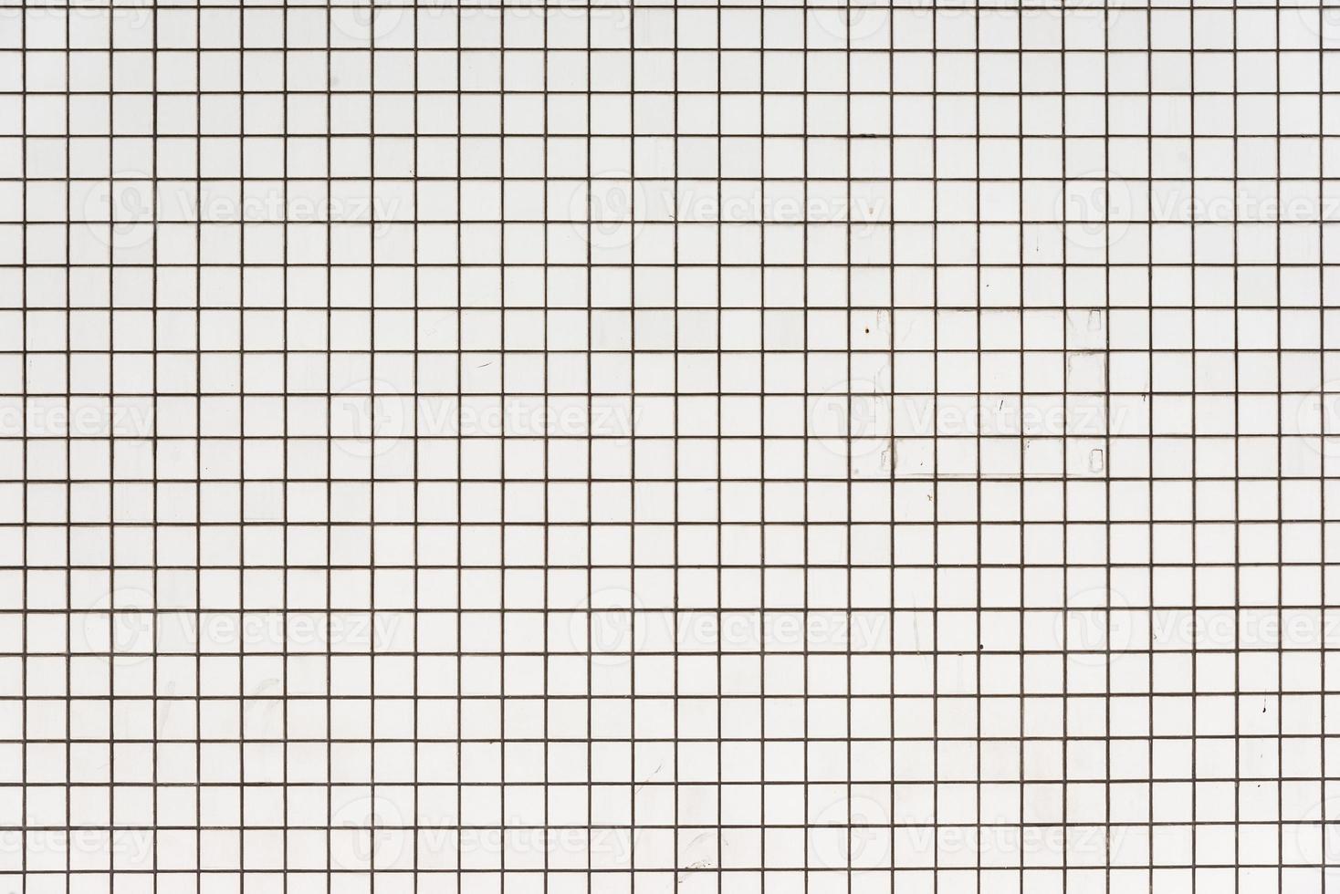 alter weißer gekachelter Wandhintergrund foto