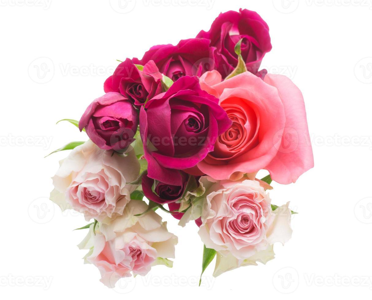 der Strauß Rosen foto