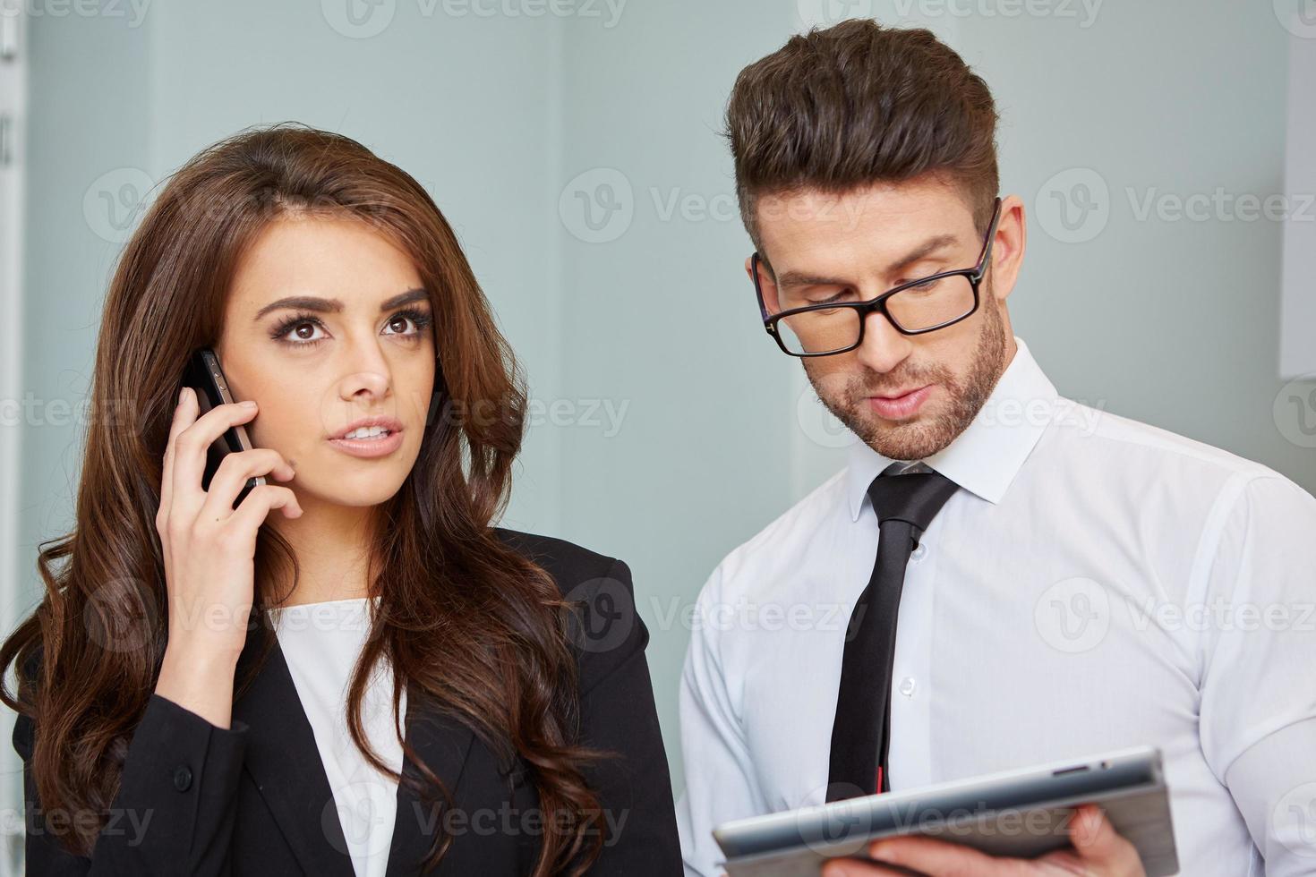 Porträt von leitenden Angestellten foto