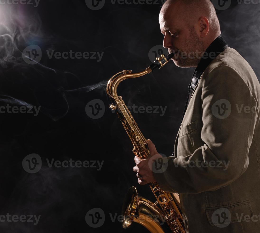 Saxophonist foto