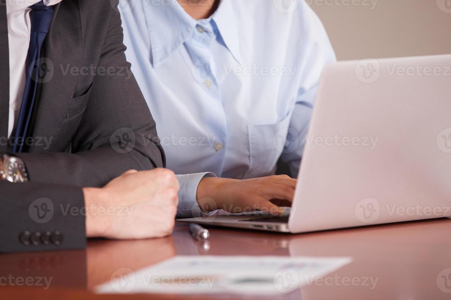 Geschäftstreffen foto