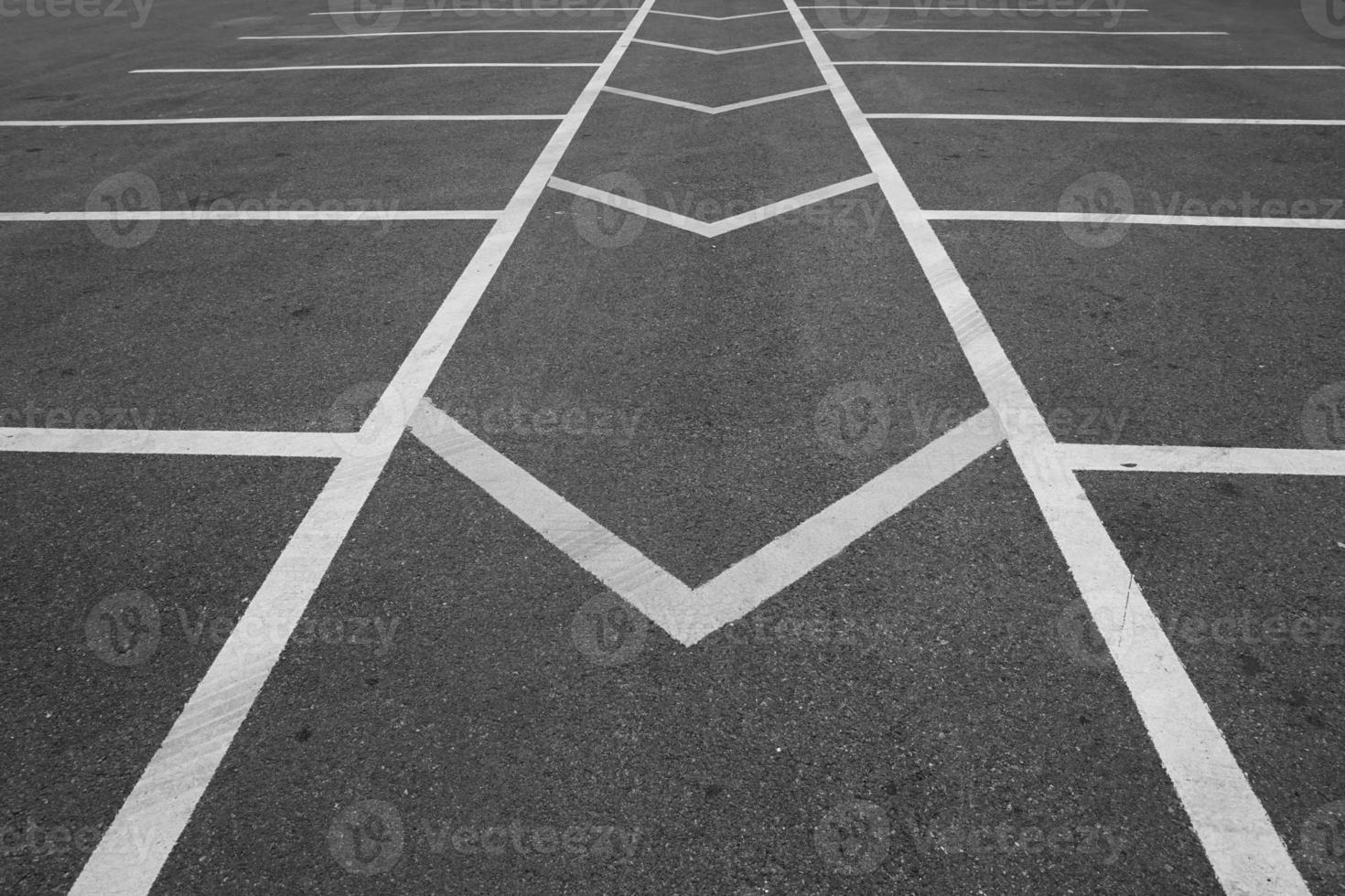 abstrakte Bruchlinie Straße foto