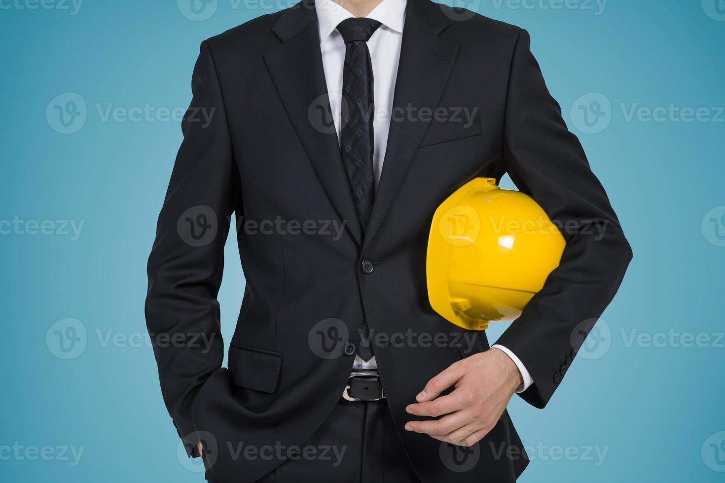 Geschäftsmann Ingenieur foto
