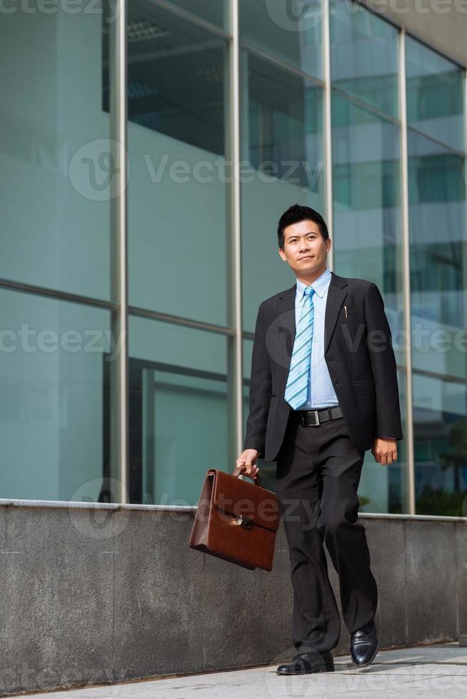 vietnamesischer Geschäftsmann foto