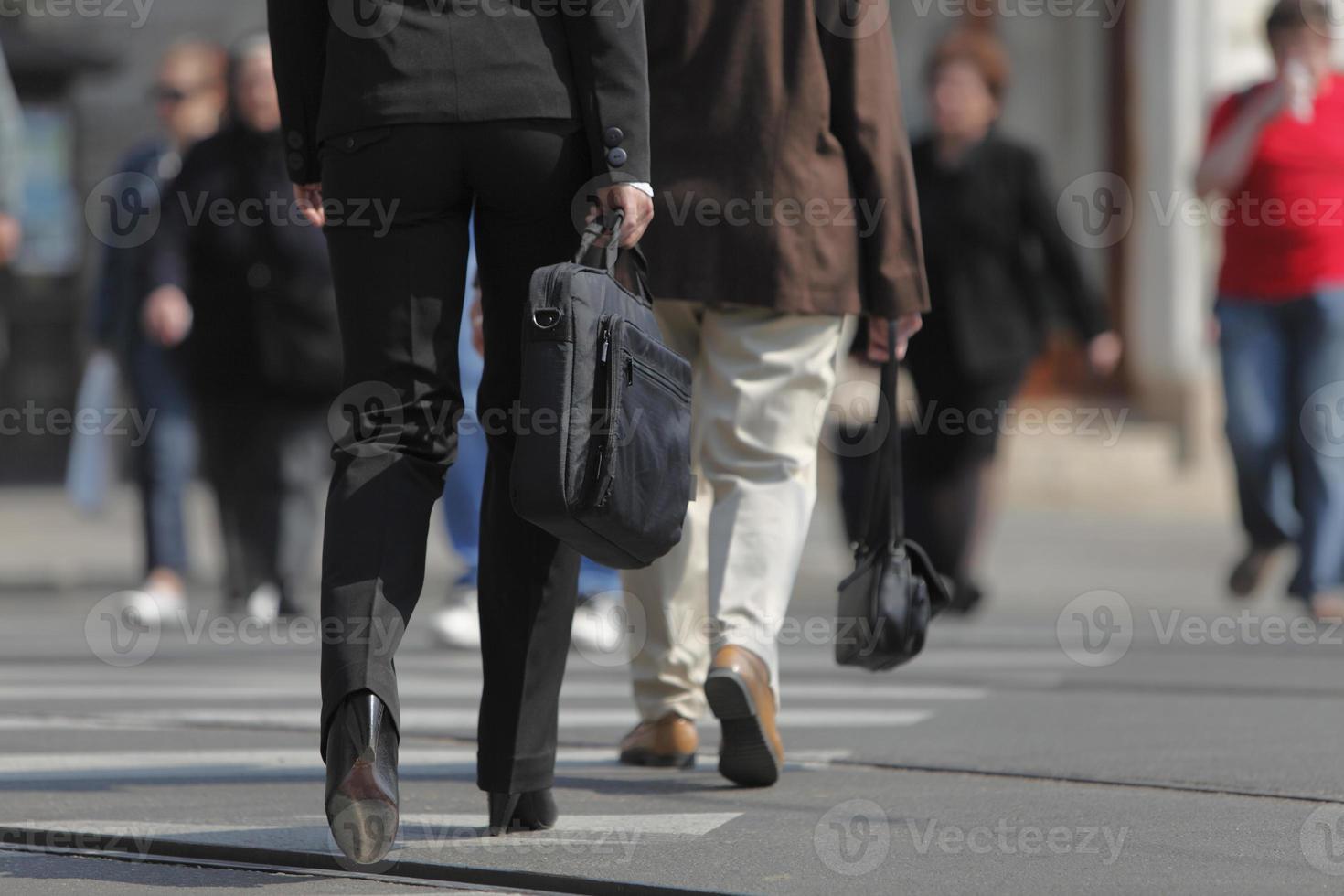 Beine der Geschäftsfrau foto