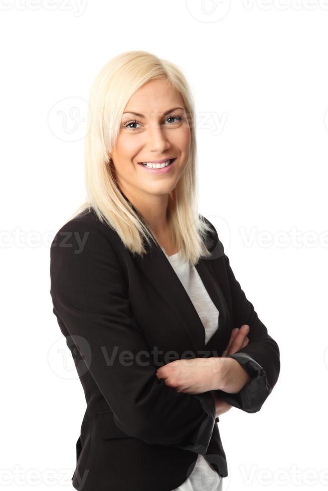 süße Geschäftsfrau foto