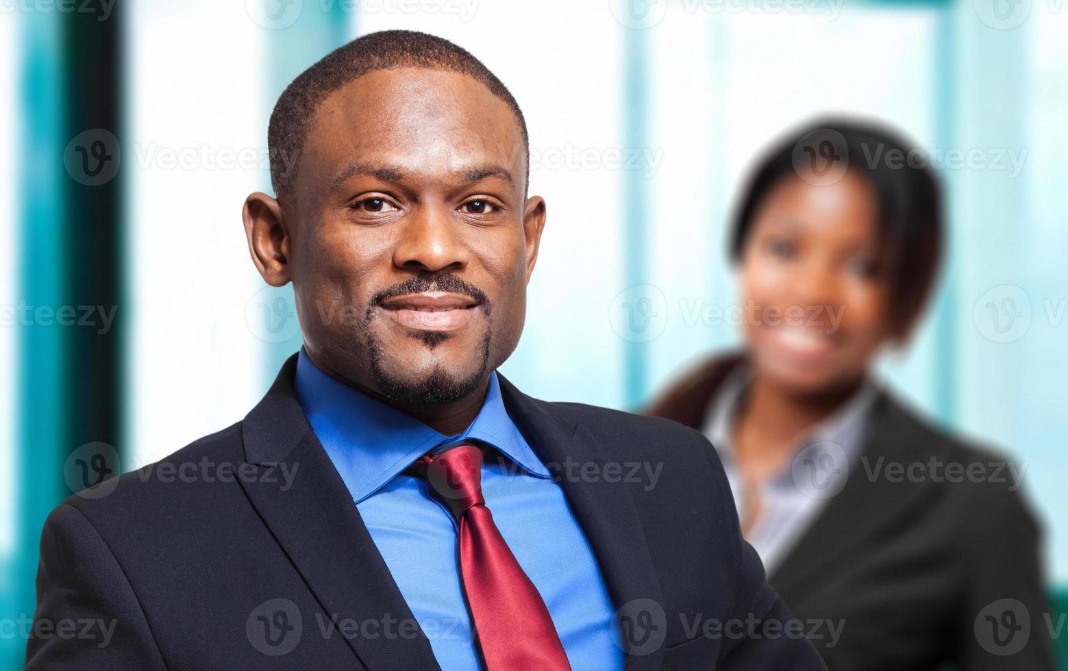 multiethnische Geschäftsleute foto