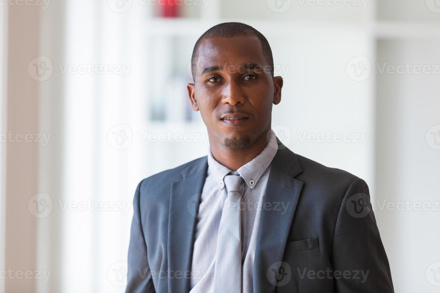 Afroamerikaner Geschäftsmann - Schwarze foto
