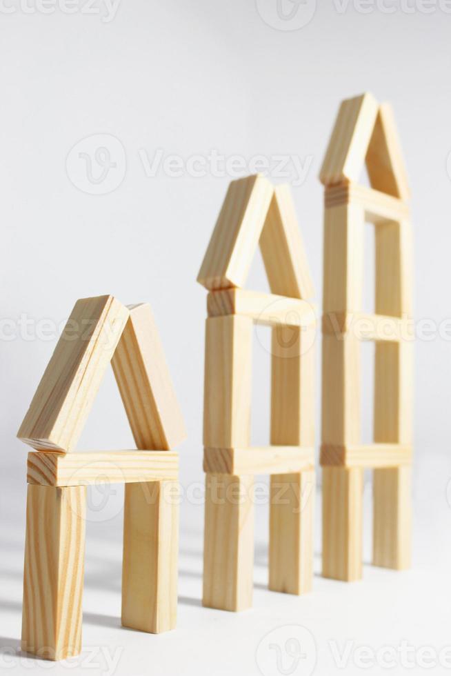 drei Häuser foto