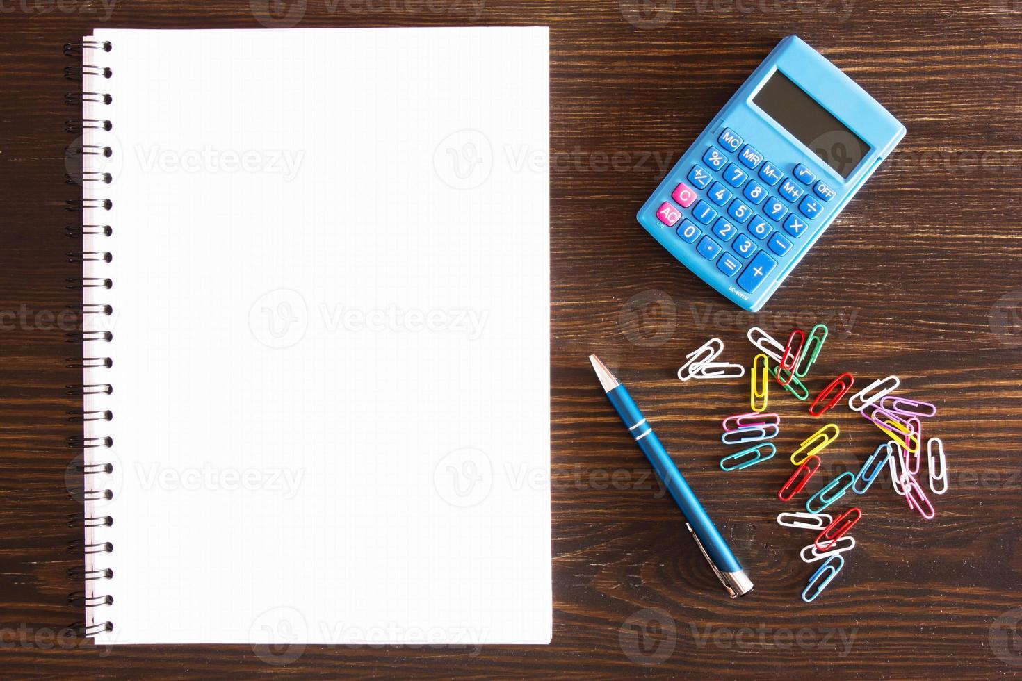 Schreibtisch. foto