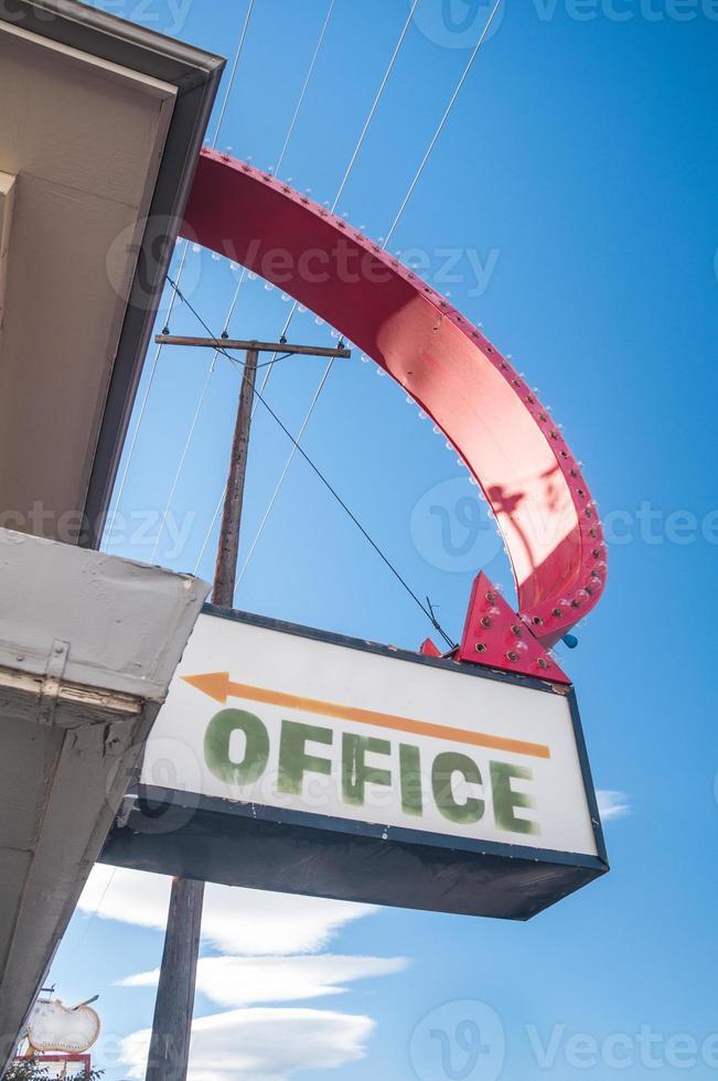 Büroschild foto