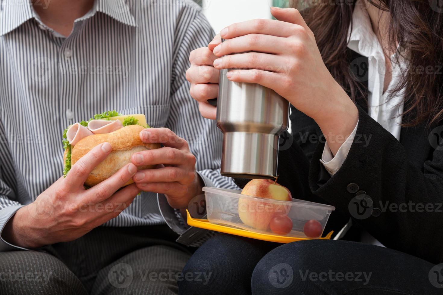 Mittagszeit foto