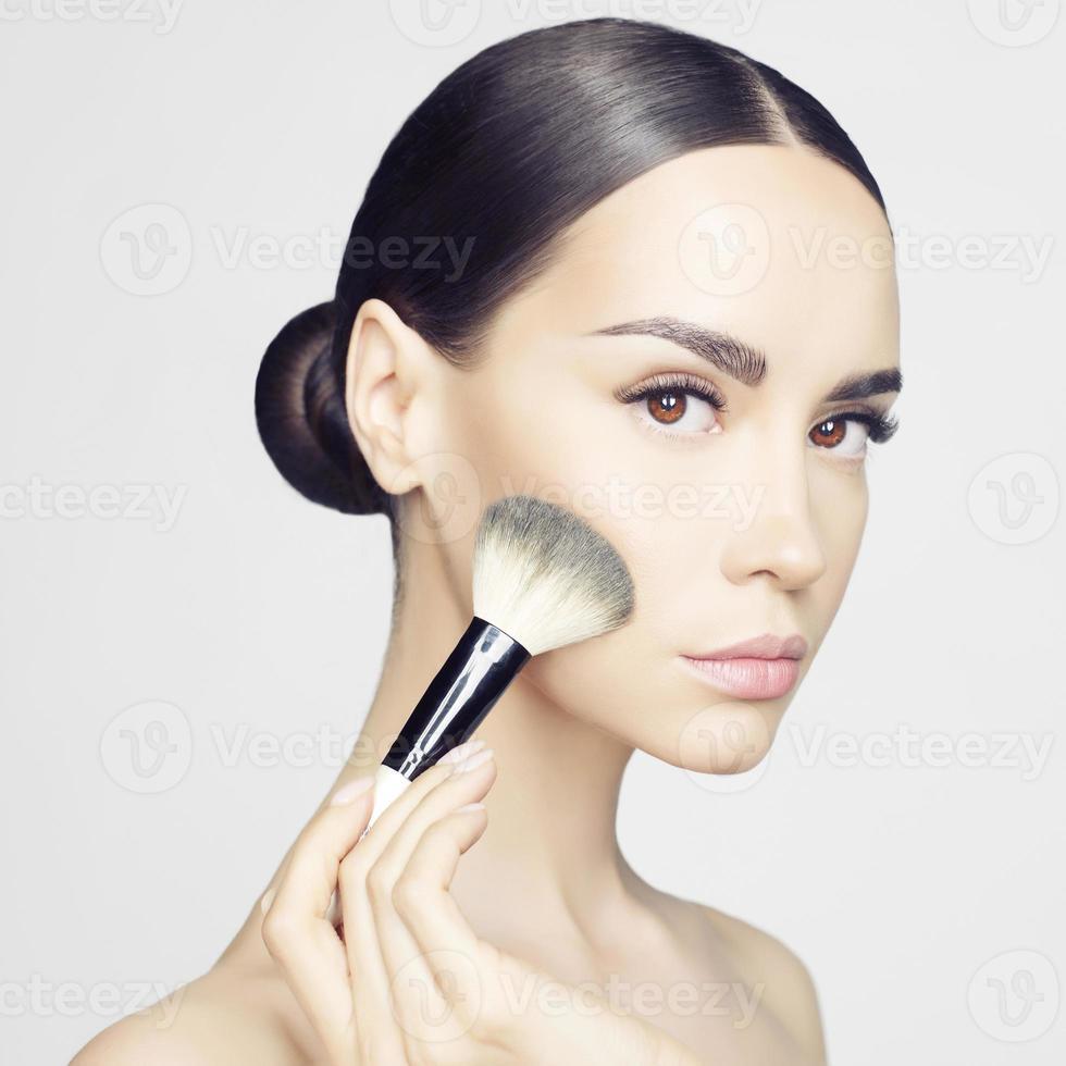Gesichts Make-up foto