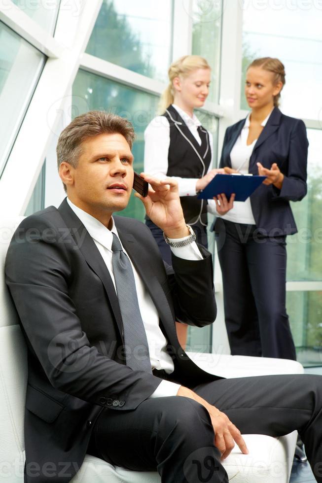schöner Arbeitgeber foto