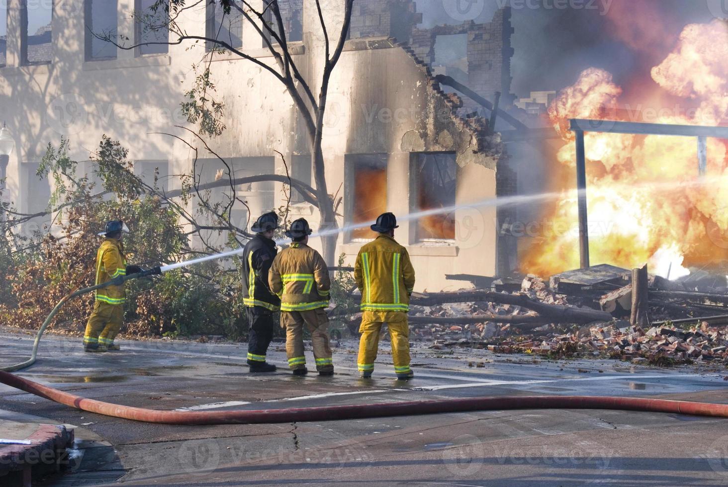 Feuerwehrleute foto