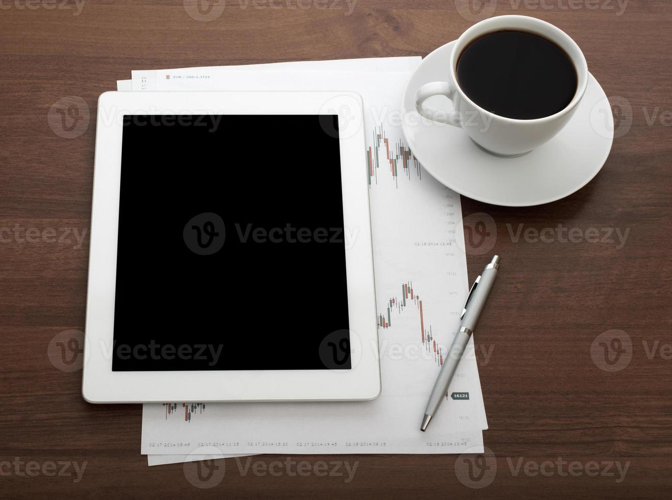 digitales Tablet foto