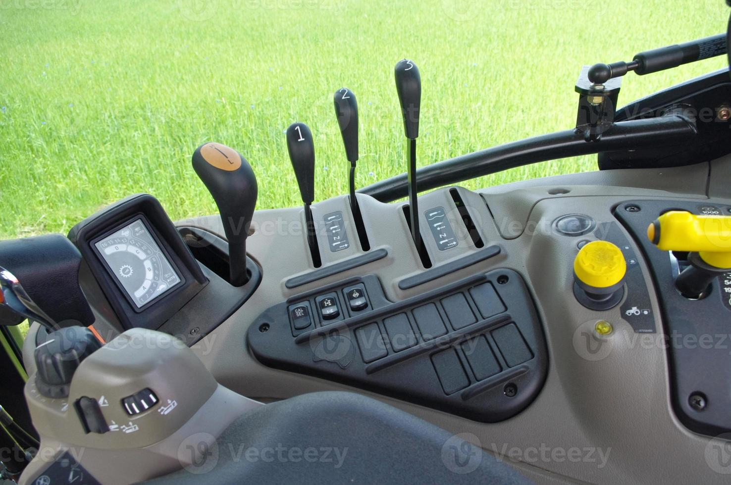 Traktorkabinengerät, Ausrüstung foto